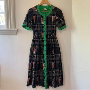 VINTAGE Neiman Marcus 50's day dress